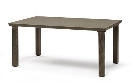 Ideapiu Mesa Rectangular Bronce 170 x 100 con Piano de ...