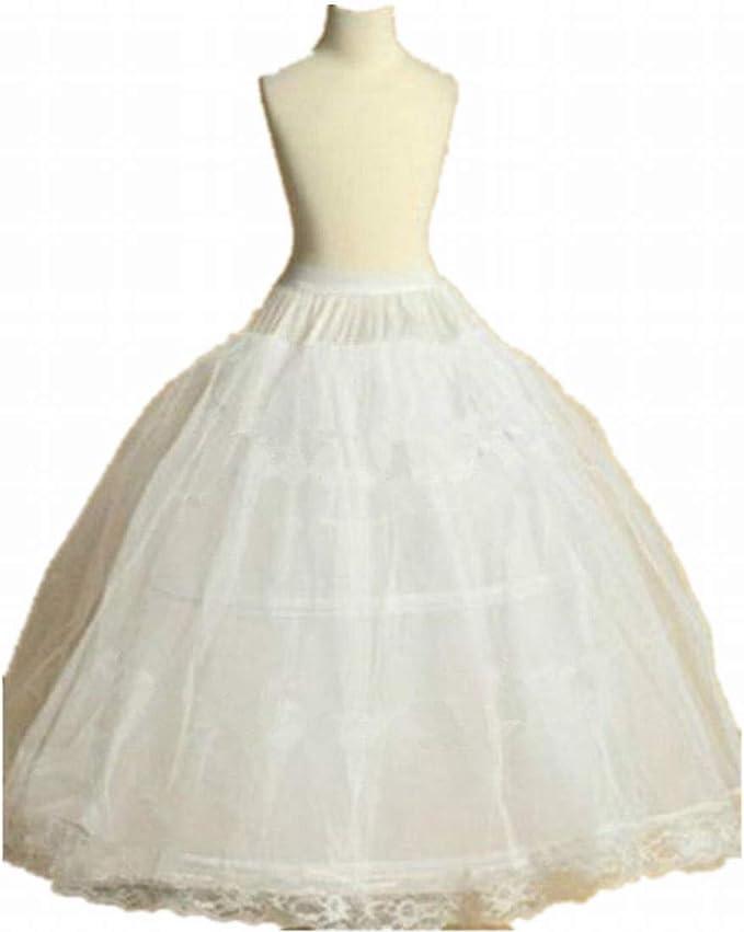 New Flower Girl dress Children Underskirt Kids Wedding Crinoline Petticoat Slips