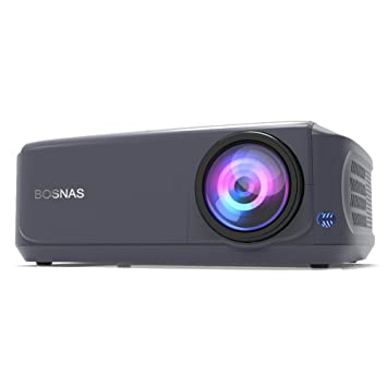 Bosnas Leisure Proyector con 3800 lúmenes Full HD 1080p y 200 ...