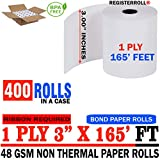 Star MICRONICS SP700 (All) 1-Ply 3 inch x 165' Paper 400 Rolls | Premium Value Pack | from RegisterRoll
