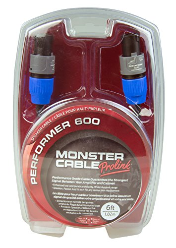 Monster Performer 600 Speaker Cable Speakon-Speakon Speaker Cable - 6' ()