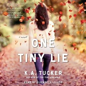 One Tiny Lie Audiobook