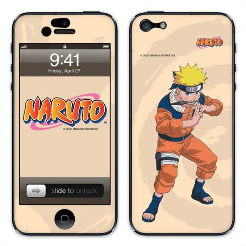 Diabloskinz B0081-0062-0052 Vinyl Skin für Apple iPhone 5/5S Naruto v2