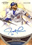 #4: 2017 Topps Tier One #PPA-JTU Justin Turner Certified Autograph Baseball Card - Only 300 made!