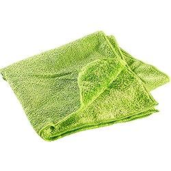 Semptec Urban Survival Technology Mikrofaser-Handtuch, 2 versch. Oberflächen, 80 x 40 cm, grün