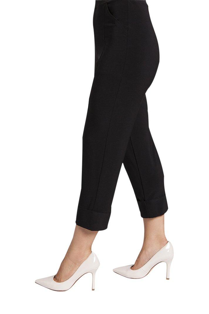 Sympli Womens Hepburn Capri Pants Size 14 Black
