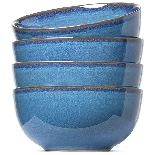LE TAUCI Soup Cereal Bowls Set, Reactive Glaze