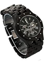 Topwell® Date Time 24hours Wood watches Wood watches Round Multi-Eyed QUARTZ Wood Watch