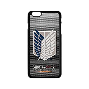 Attack On Titan Fashion High Quality Comstom Plastic case cover For iPhone 6