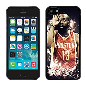 DIY,Personalized iPhone 5C Case Design with Houston Rockets James Harden in Black