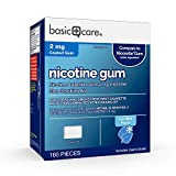 Amazon Basic Care Coated Nicotine Polacrilex Gum