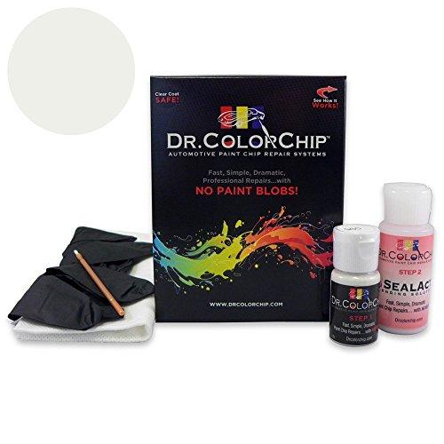 Dr. ColorChip Chevrolet Silverado Automobile Paint - Olympic White/Summit White 50/WA8624/GAZ - Basic Kit