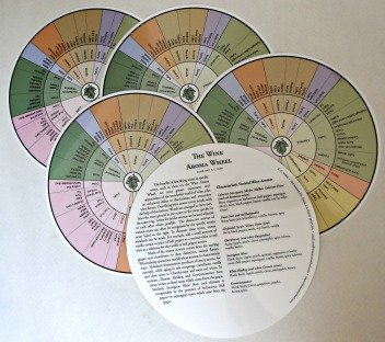 - A.C. Noble Five Wine Aroma Wheels