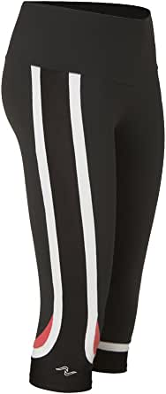 Naffta Spinning - Pantalón Pirata para Mujer, Color Gris Ceniza ...