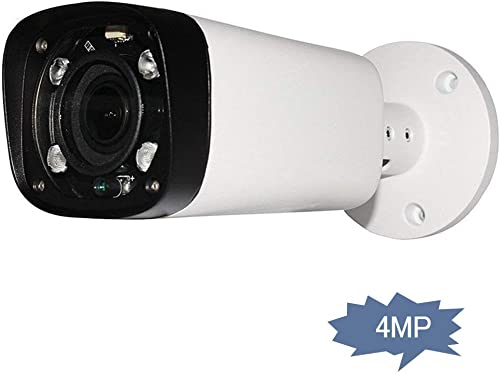 4MP Outdoor Bullet Network IP Camera, IPC-HFW4431R-Z, PoE Security Camera with Lens 2.7-12mm Motorized Varifocal Zoom, IR Night Vision 80m, H.265 WDR Onvif