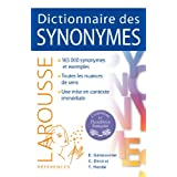 DICTIONNAIRE DES SYNONYMES, N.E.