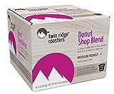 Twin Ridge Roasters Medium Roast Coffee Single Serve Brew Cups, Donut Shop Blend, 42 Count