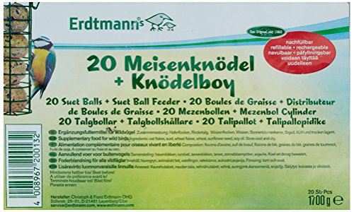 Erdtmanns Suet Balls without Feeder
