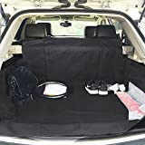 HAOCOO Waterproof Durable Pet Seat Cover for Cars Cargo Cover Liner Bed Floor Mat Fits Most Cars, SUV, Vans & Trucks
