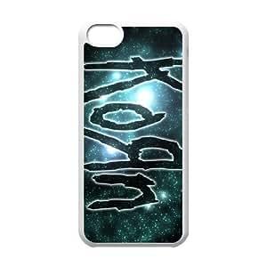 iPhone 5C Phone Cases White Korn DEM717472