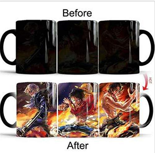 New no label Unemployed Philosophers Guild Star Trek Transporter Heat Changing Mug 1 pc Cup Coffee Cup Mouth Cup (A-Black) (Star Trek Transporter Heat Changing Coffee Mug)