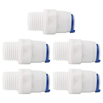 1//4 inch OD Tube push fit straight quick connect for water purifiers
