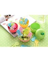 Buy Freedi Plasic Fruit Fork Cute Apple Kitchenaid Decoration Gift deal