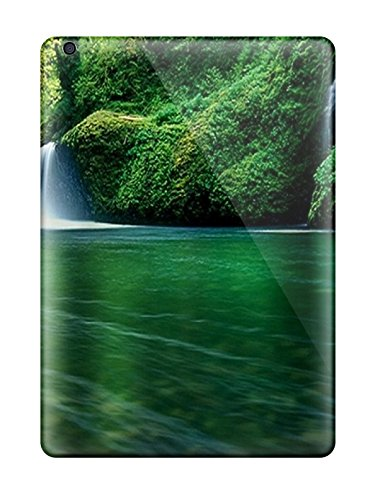 Series Skin Case Cover For Ipad Air(animated Waterfall S) (Animated Hex)
