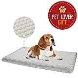 Animals Favorite Orthopedic Mattress for Pets - Egg Crated Dog Bed with Ultra Plush Memory Foam