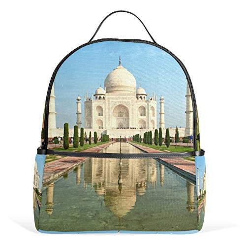Backpack Landscape Taj Mahal India Shoulder Bag Daypack Travel School Rucksack