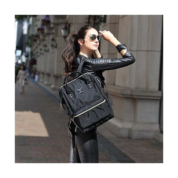 a979bc7e960 Bebamour Casual College Backpack Lightweight Travel Wide Open Back to  School Backpack for Women Men(Black). April 14