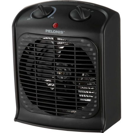 "Pelonis Portable Fan Heater | 5""D x 8""W x 9""H Inches 