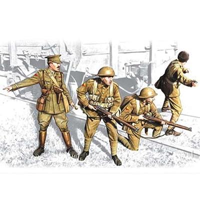 ICM Models British Infantry 1917-1918 Building Kit: Toys & Games