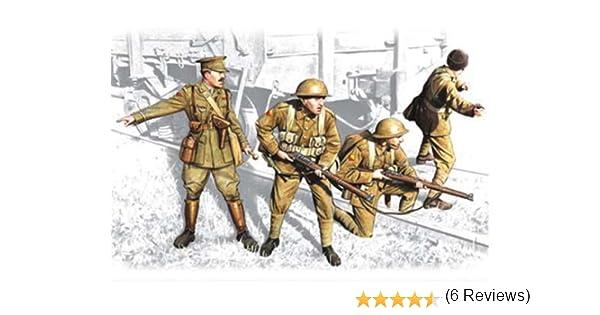 ICM 35301 - Infantería Británica, 1917 - 1918: Amazon.es: Juguetes y juegos