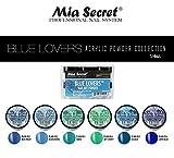 6PC Mia Secret Nail New Acrylic Art Powder New Collection (BLUE LOVERS)
