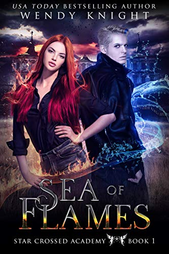 (Sea of Flames (Star Crossed Academy Book 1))