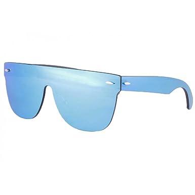 Masque lunettes de soleil miroir bleu Fashion Krost - Homme  Amazon.fr  Vêtements  et accessoires 5bcce36f5d5c