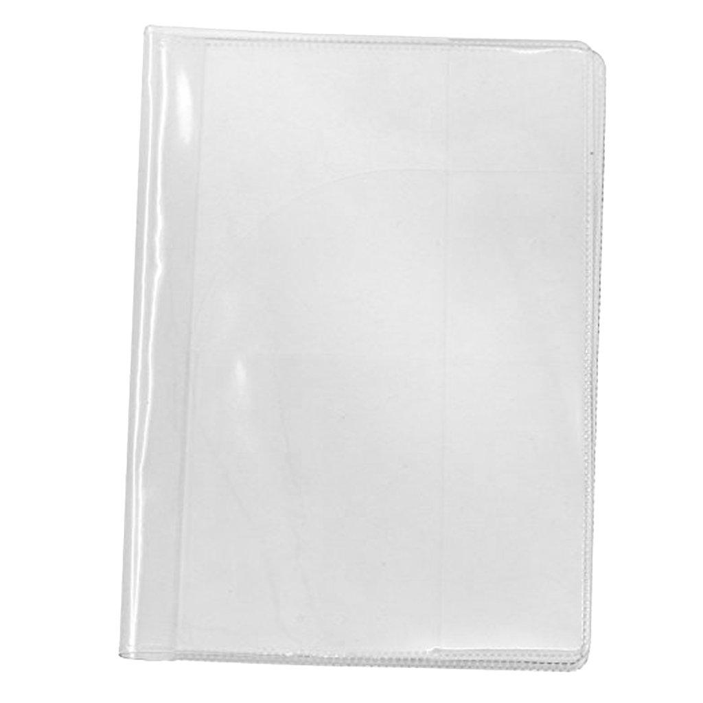 Homyl Plastic Clear Transparent Passport Cover Holder Card Protector Card Storage 7.69003E+18