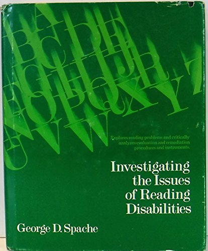 Investigating the issues of reading disabilities