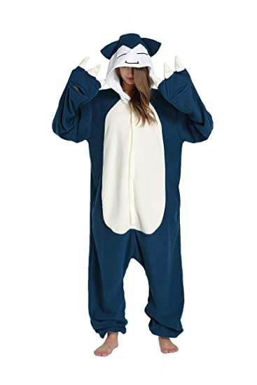 Unisex Adult Animal Pajamas Sleepwear Costume Plush One Piece Cosplay (S  (4 9 quot 8595b260c