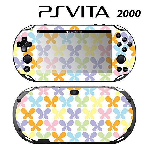 Skin Decal Cover Sticker for Sony PlayStation PS Vita Slim (PCH-2000) - Butterfly -  Decals Plus, PV2-PA25