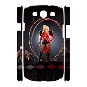 C-EUR Britney Spears Customized Hard 3D Case For Samsung Galaxy S3 I9300