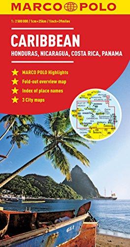 Caribbean (Marco Polo Maps)