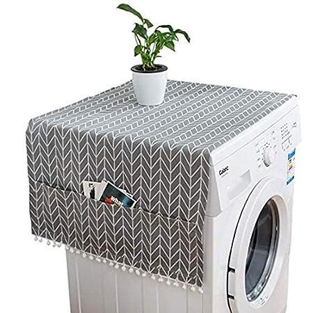 HONG-YANG Cubierta del refrigerador del hogar Paño Exclusivo de la ...