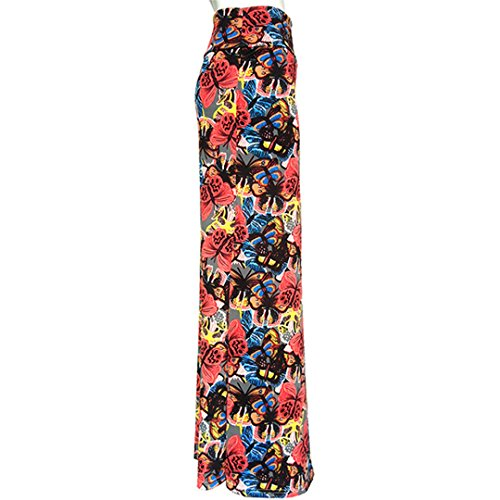 22 Maxi Two Skirt Printed Damask Womens Aisa Multi Multicolored Tone YBxwTzURq