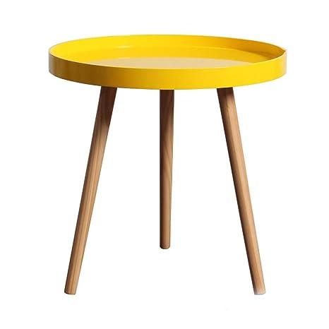 Amazon.com: ZHFHA - Mesa auxiliar para salón con patas de ...