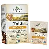 Organic India USA - Tulsi Vanilla Creme Tea, 18 bags