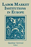 img - for Labor Market Institutions in Europe: A Socioeconomic Evaluation of Performance (Labor & Human Resources Series) book / textbook / text book