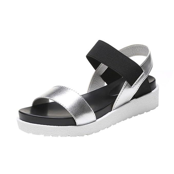 SmrBeauty Sandalo Piatto Donna Tacco,Donna Sandalo Estivi Piatto Sandalo Elegante 05dee4