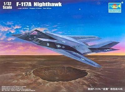 Trumpeter 1/32 F117A Nighthawk Aircraft Model Kit